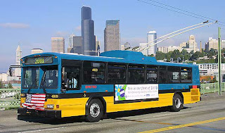 Metro Transit (King County) electric bus