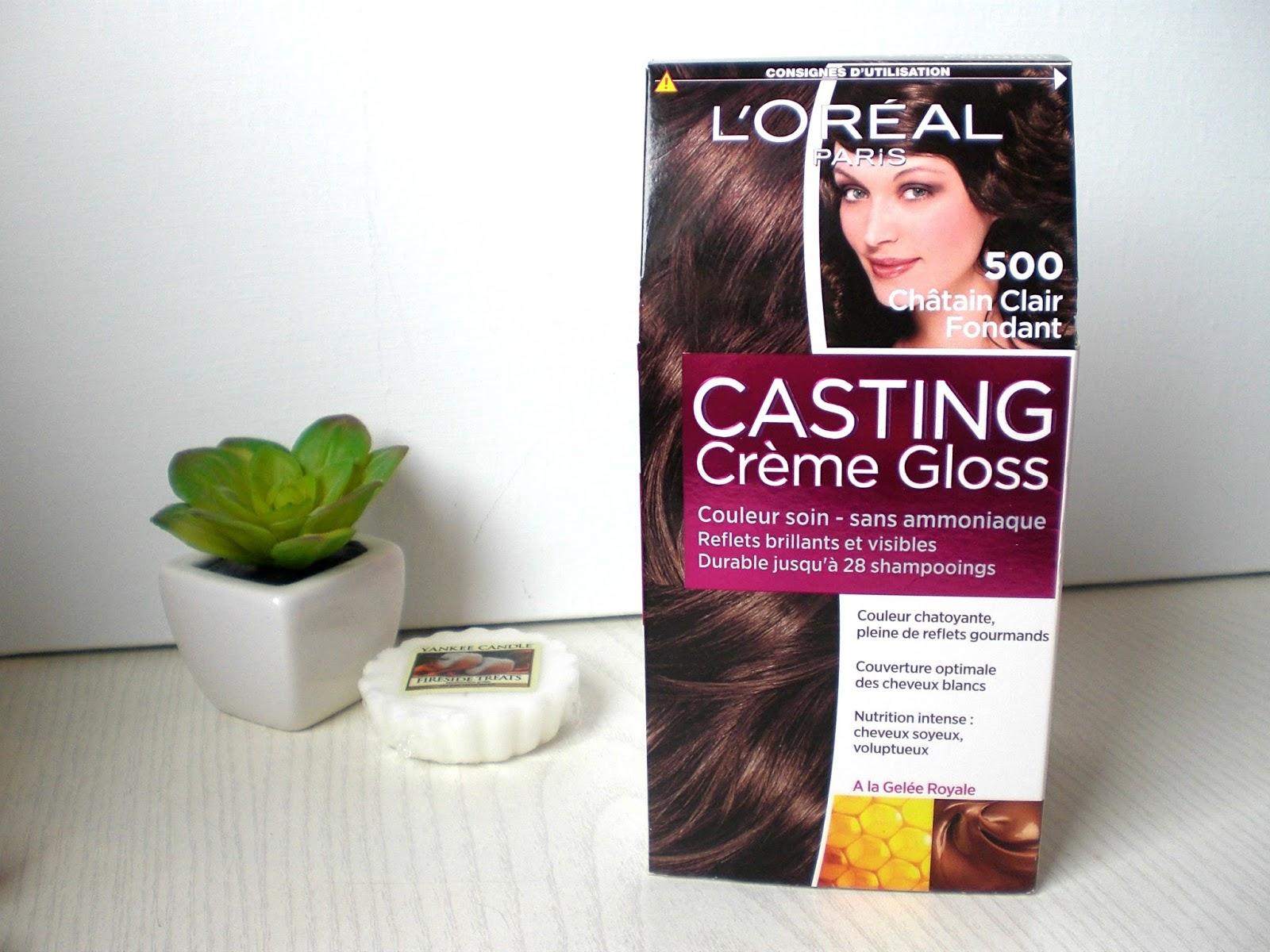 Coloration cheveux sans ammoniaque casting creme gloss