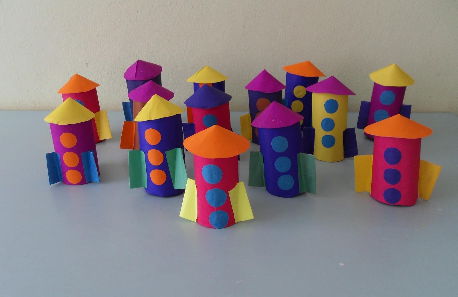 Поделки для детского сада из бумаги фото