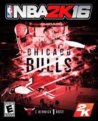 NBA 2K16 Custom Covers - Chicago Bulls