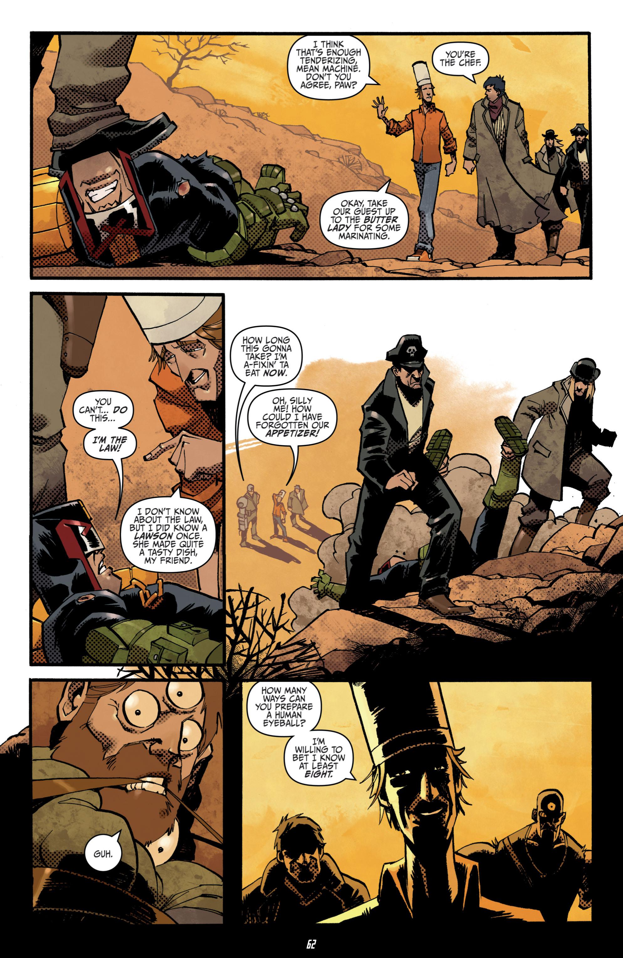 Read online Judge Dredd (2012) comic -  Issue # _TPB 3 - 62