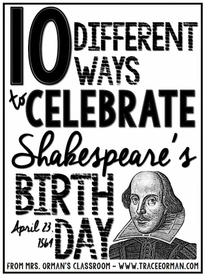 10 Ways to Celebrate Shakespeare's Birthday - www.traceeorman.com