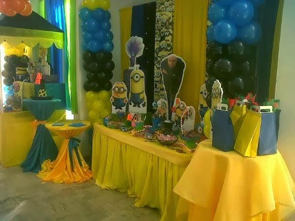 Fiestas Infantiles Decoradas con Mi Villano Favorito, parte 1