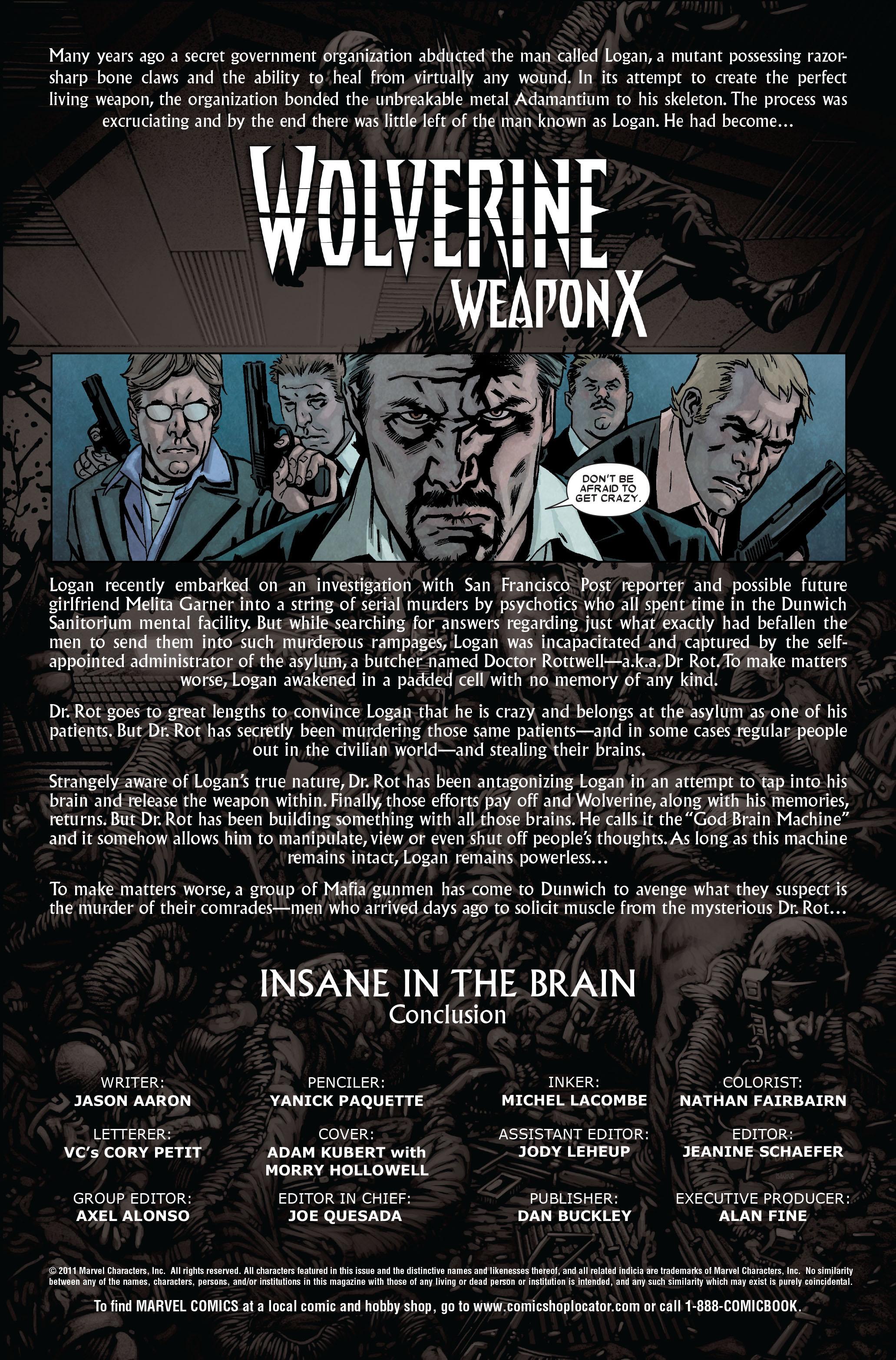 Wolverine: Weapon X #9 #8 - English 2