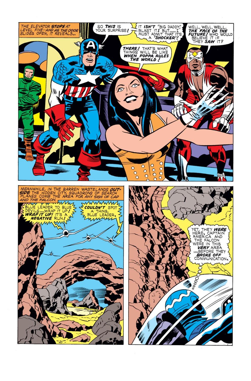 Captain America (1968) Issue #195 #109 - English 9