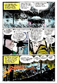 Hot Wheels v1 #4 dc 1970s bronze age comic book page art by Alex Toth