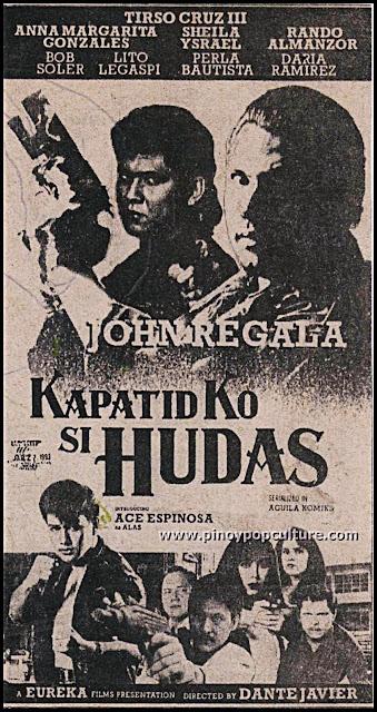 Kapatid Ko Si Hudas, John Regala, Hudas, action movies
