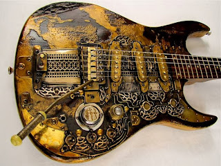 "Tony Cochran Steampunk ""Lighthouse"" Strat"