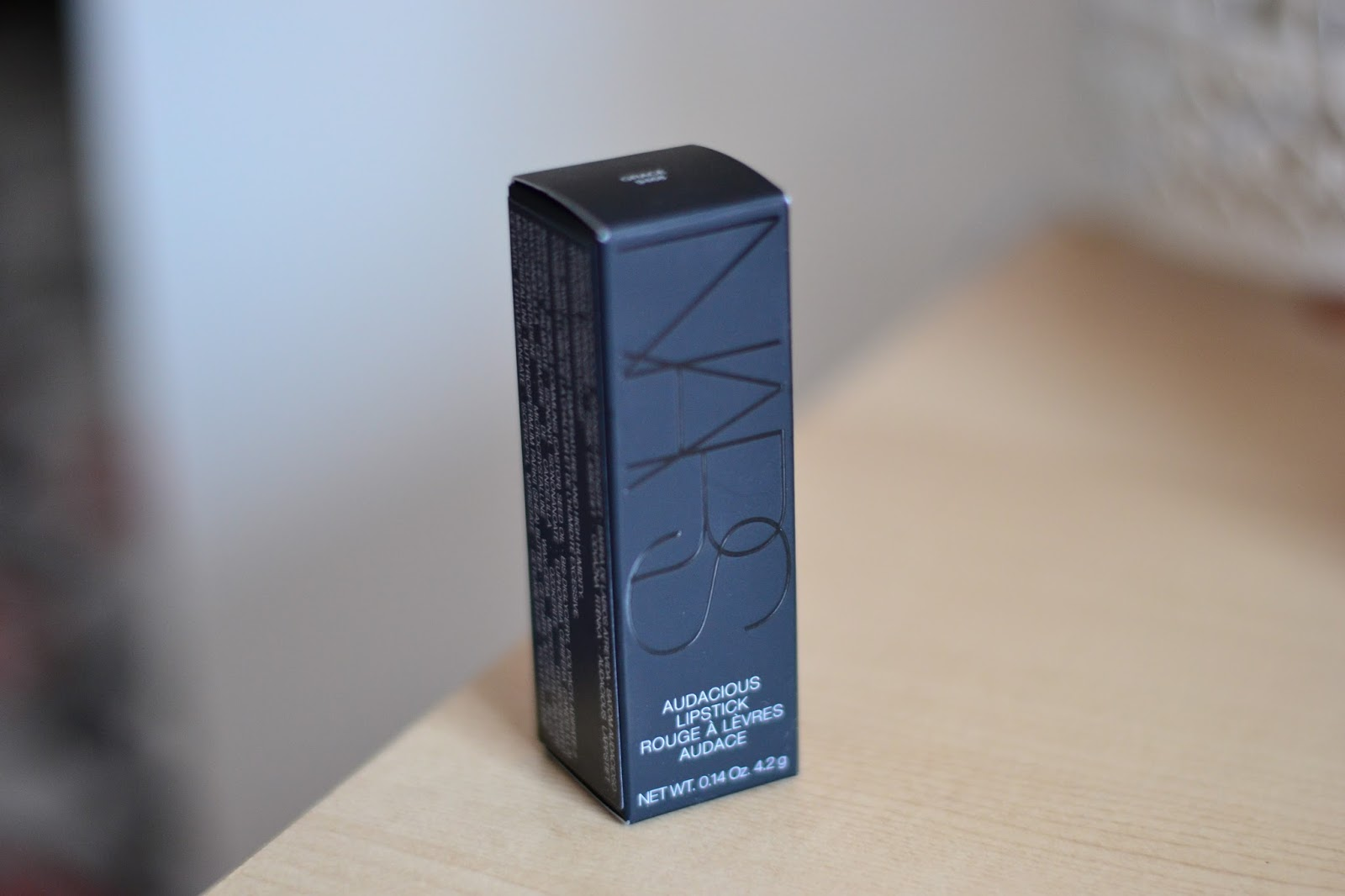 Nars Audacious Lipstick Grace Review