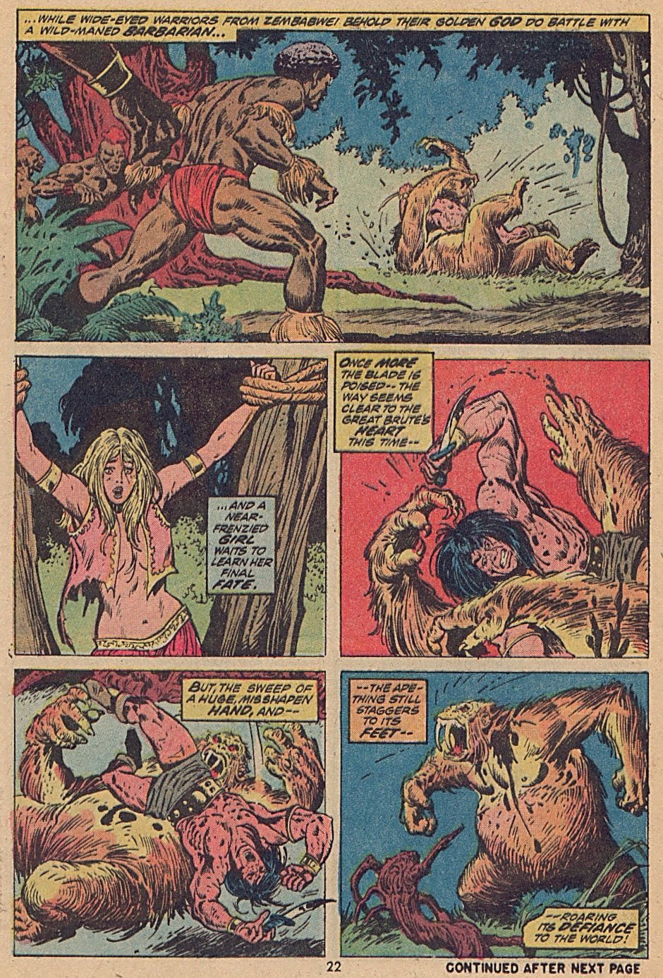 Conan the Barbarian (1970) Issue #28 #40 - English 17