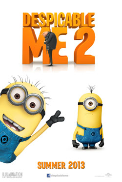 Despicable Me 2 2013 poster