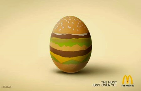 Easter Print Advertising McDonald's Campaign