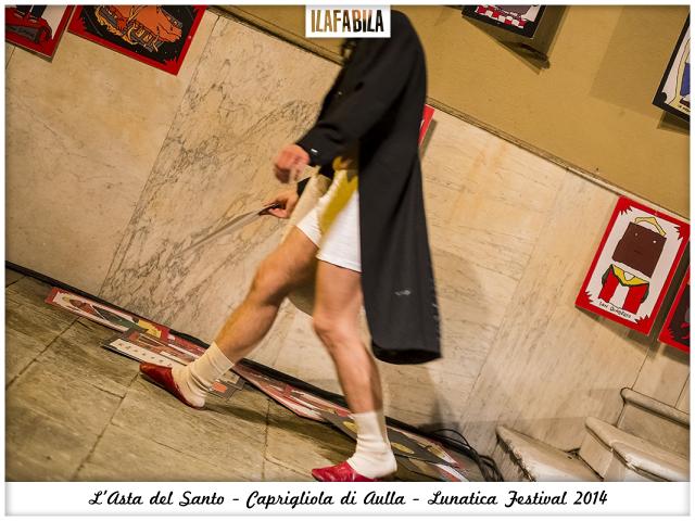 Quando il Santo va all'Asta: gli Omini e Caprigliola - Lunatica Festival 2014 - Santi Perdenti