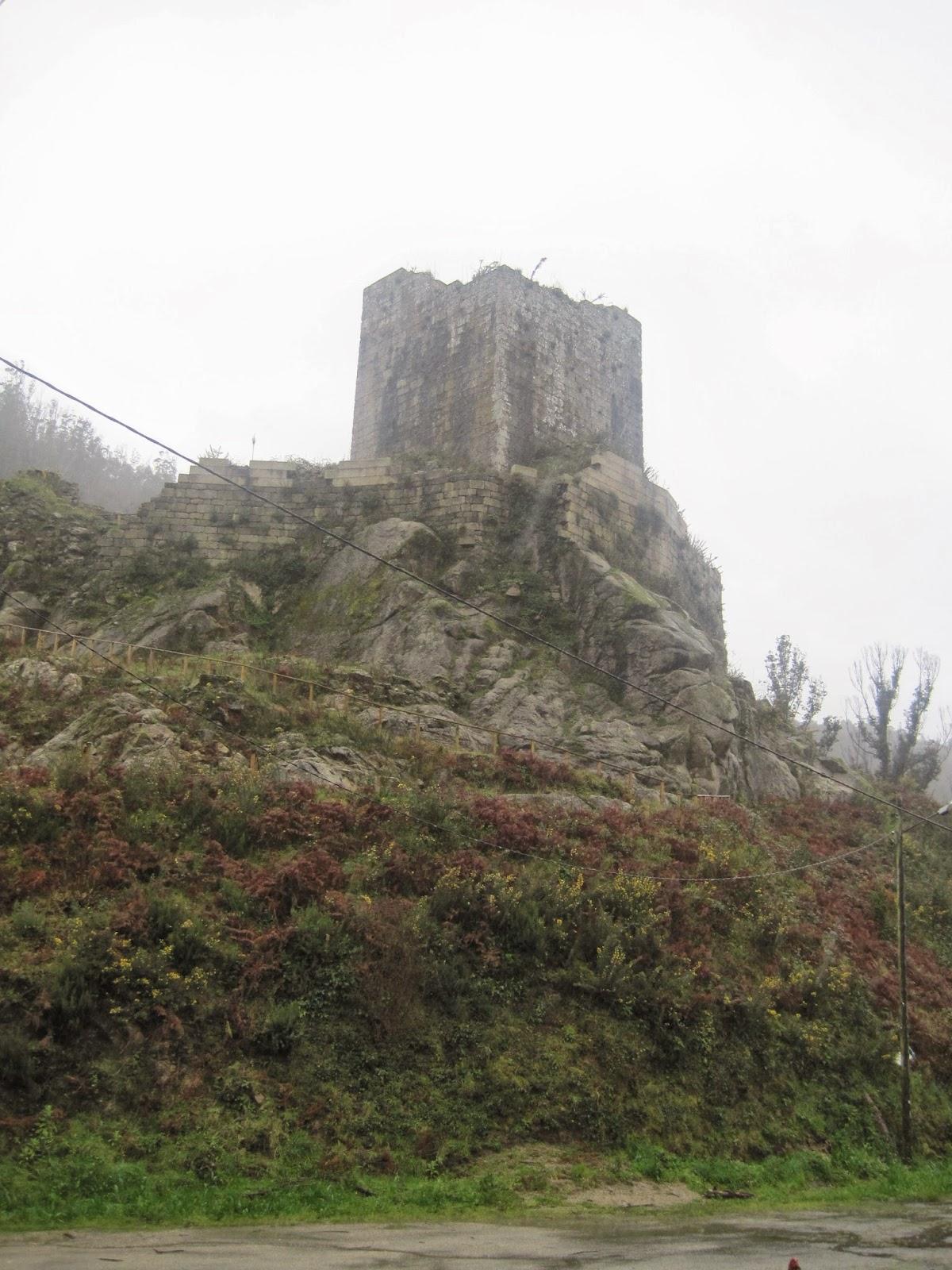 Castillo de Naraío en San Sadurniño