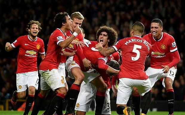 Senarai Penjaring Gol Manchester United Musim 2014 2015