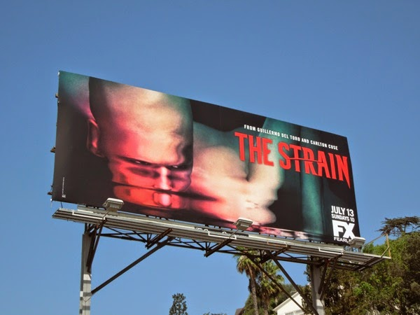 The Strain version 2 series launch billboard