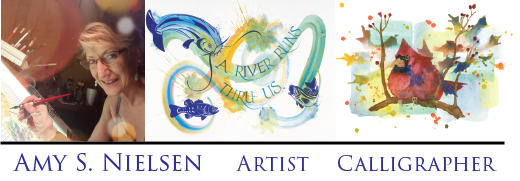 AMY S. NIELSEN  Artist and Calligrapher