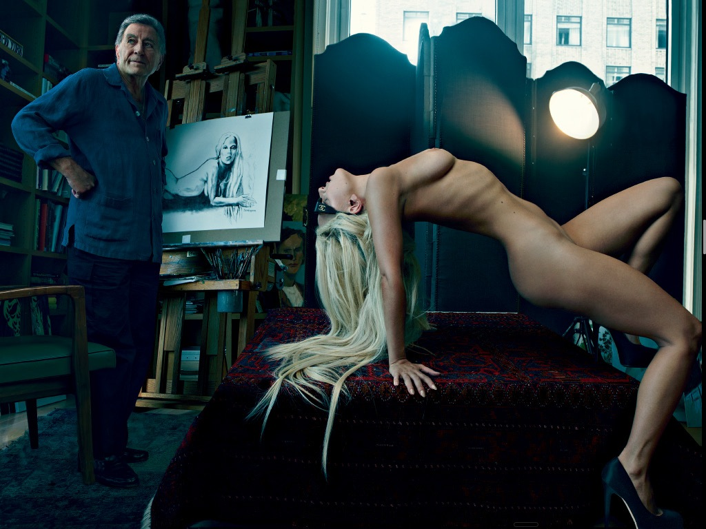 Tony bennett sketch lady gaga nude