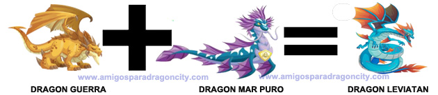 como sacar el dragon leviatan en dragon city combinacion 1