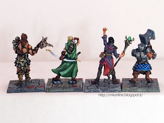 dungeon saga painted miniatures