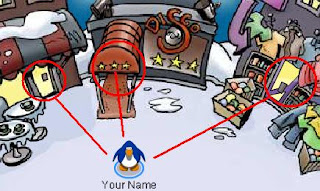 Club Penguin Beginners Guide Click-on-doors