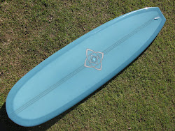 "7'5"" Bing Silver Spoon mini noserider #1339."