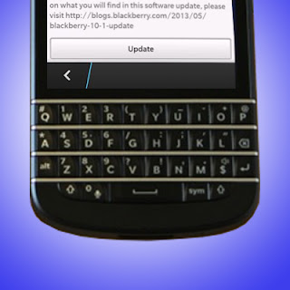 Upgrade Blackberry 10