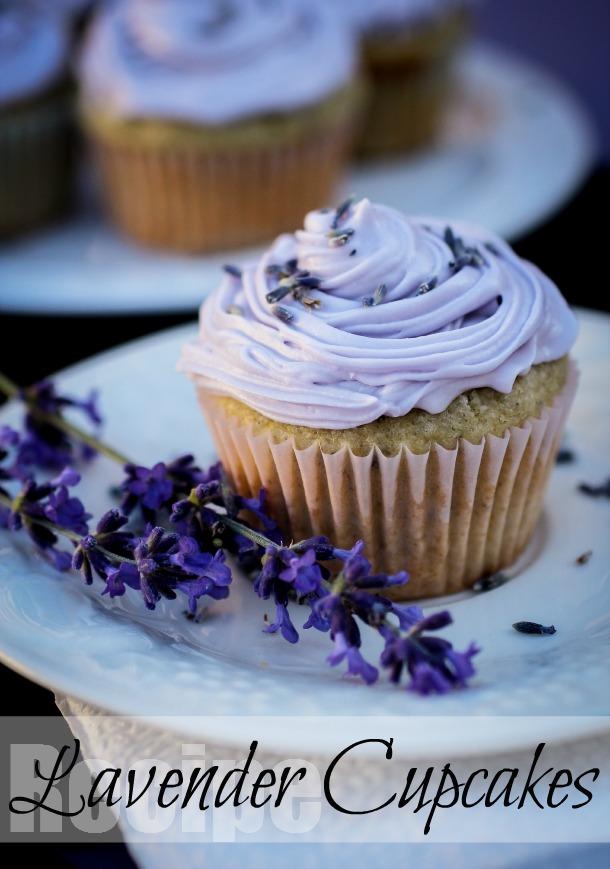 Bildergebnis für blue lavender cupcake