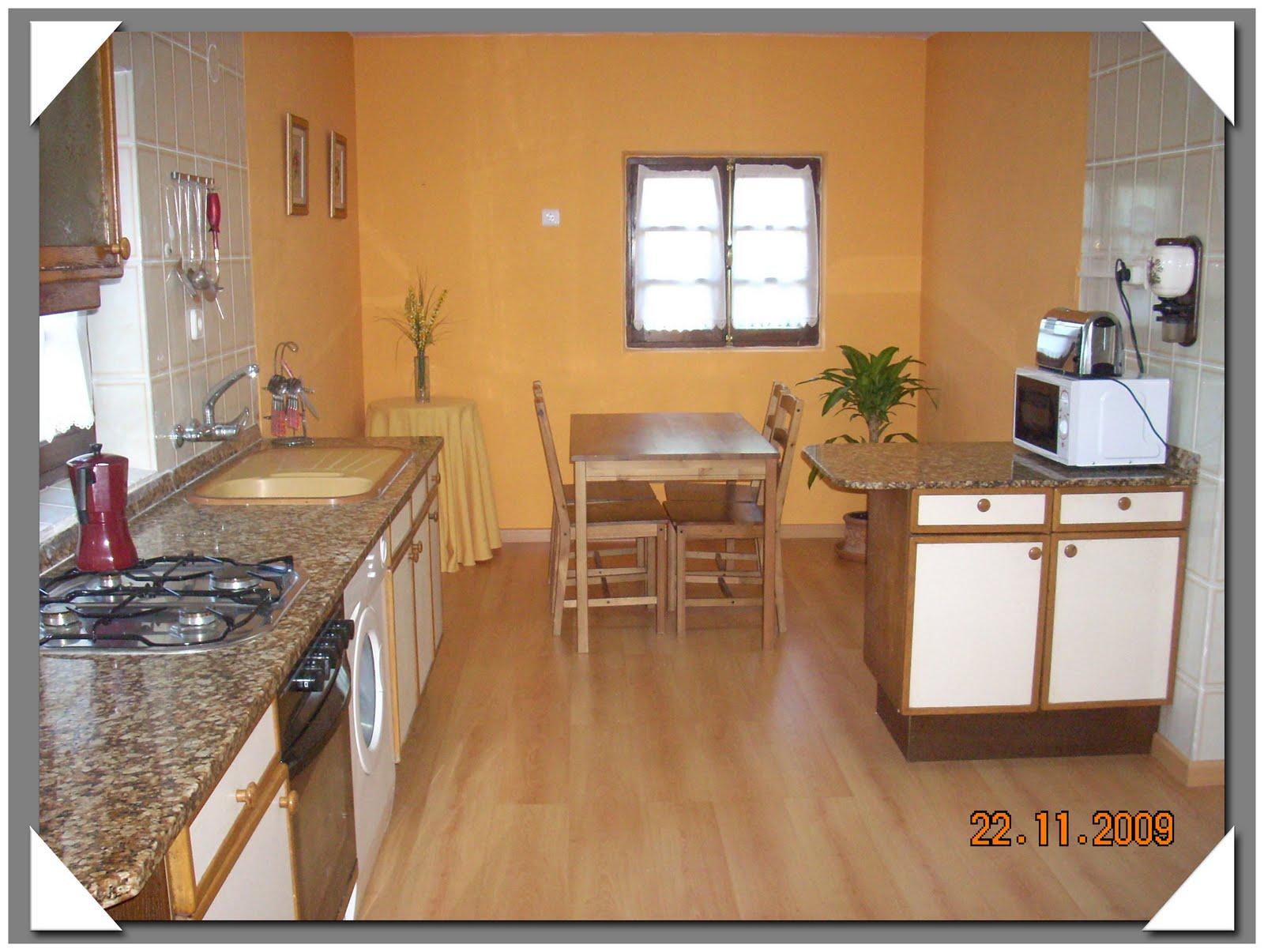 Turismo rural en cantabria la casa de mamasita cocina for Cocina 6 metros cuadrados