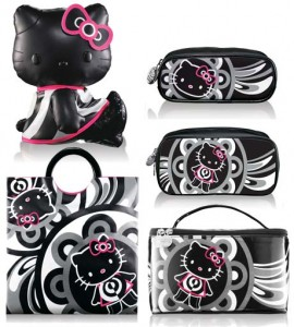 are the pictures of the hello kitty accessoriescollection of cosmetics ...