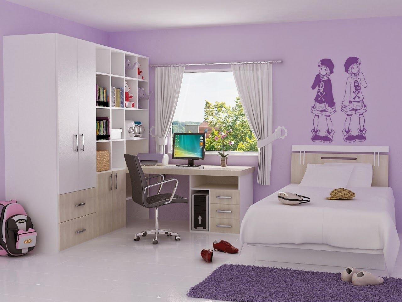 Girls Bedroom Ideas Teenage