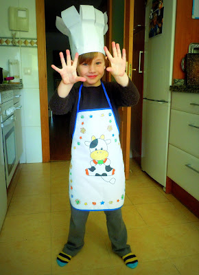 ¡Cocinando un pastel de chocolate!