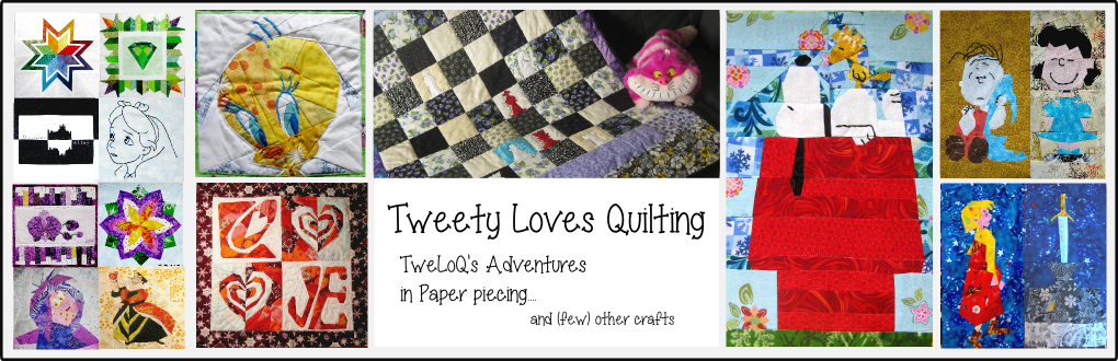 Tweety Loves Quilting