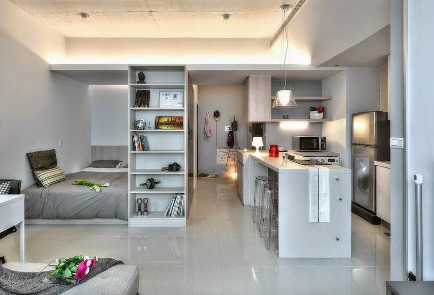 Dora dekorasjon: 32 m2 koselig leilighet