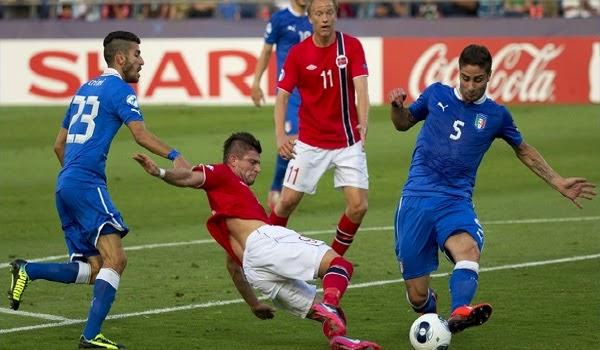 Norwegia vs Italia