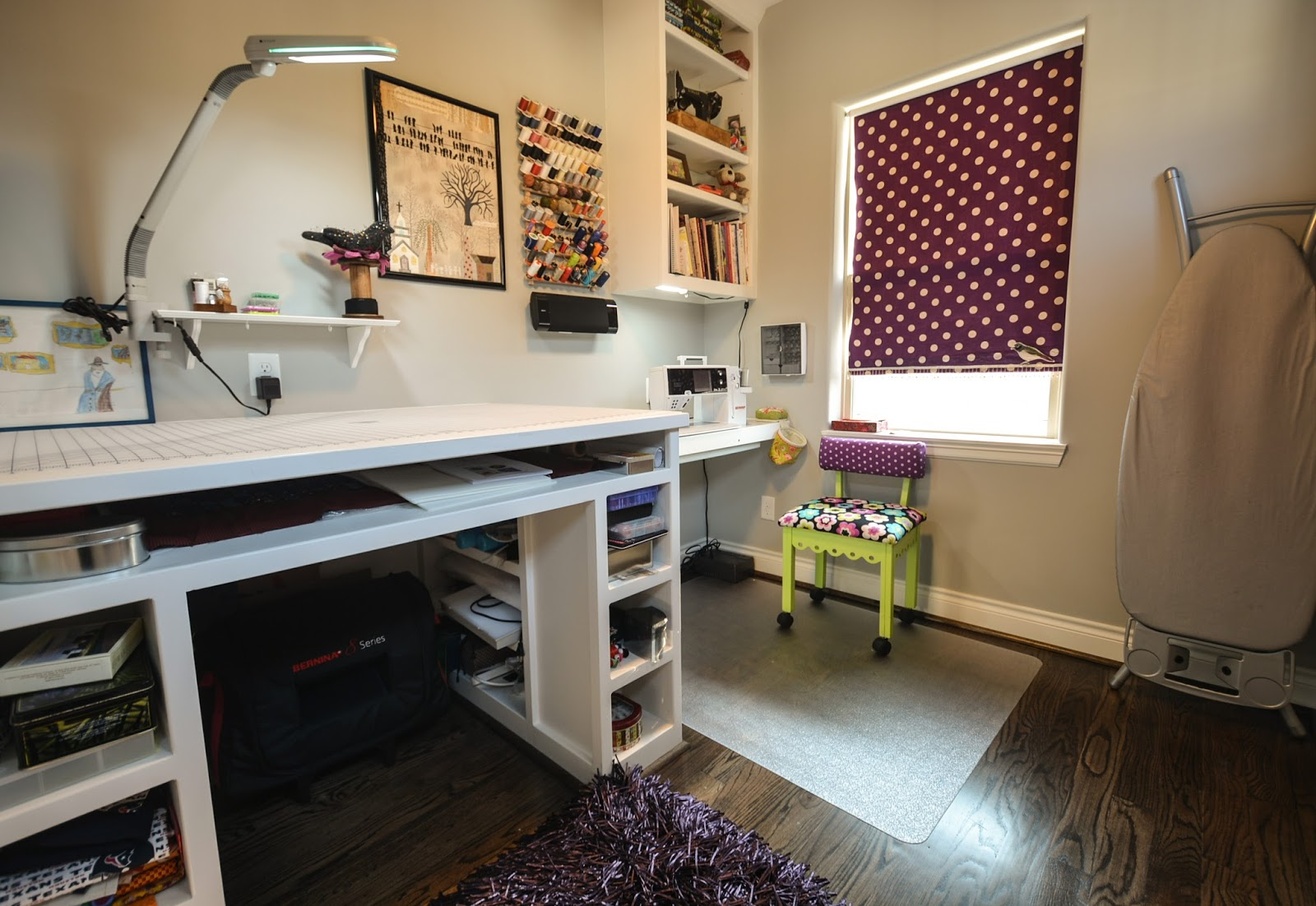 Quilting. Sewing. Living. : Sewing in a small space