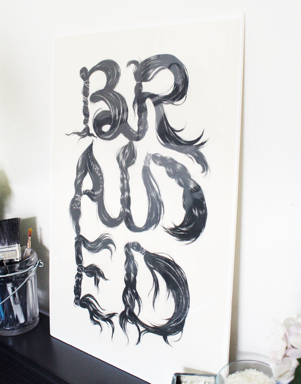 Workspace Typography Art