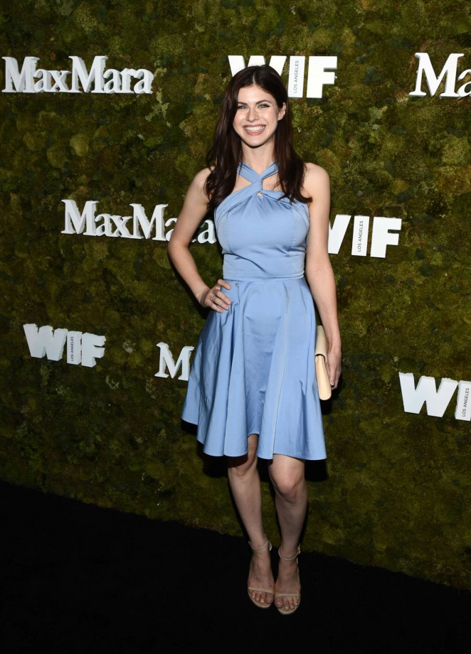 Alexandra Daddario – Max Mara Women In Film Face Of The Future Award Event in West Hollywood