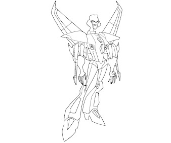 #12 Transformers Coloring Page