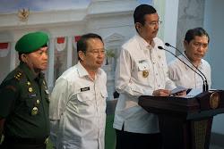 Jokowi Tinjau Rumah Relokasi Pengungsi Gunung Sinabung