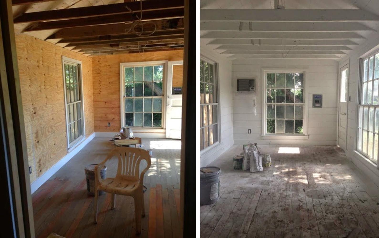 Decoraci n f cil el antes y despues de una caba a con encanto - Decoracion de casas antes y despues ...