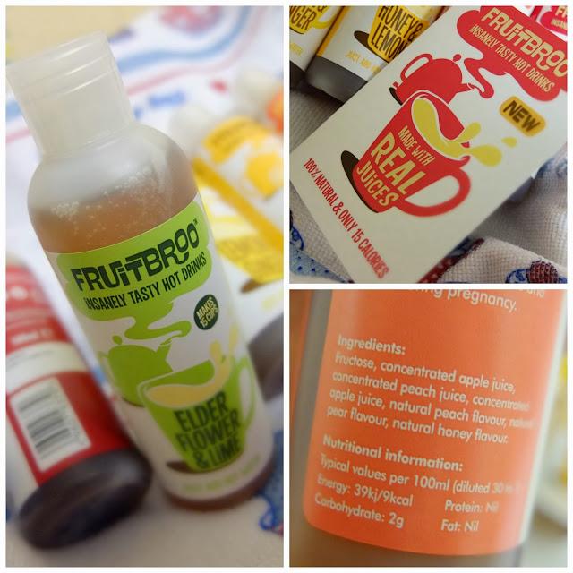 Review of Fruitbroo hot drinks, a great fruit tea alternative!