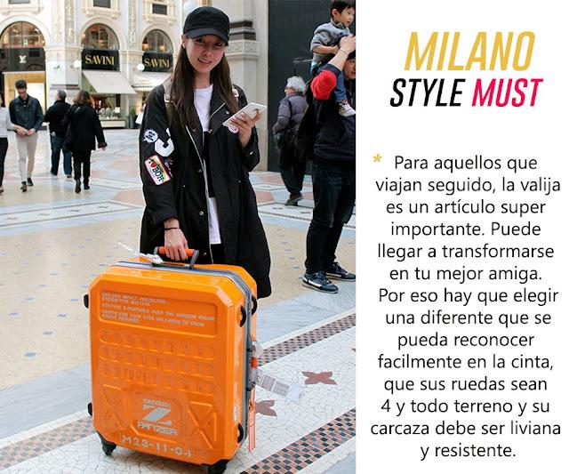 orange suitcase