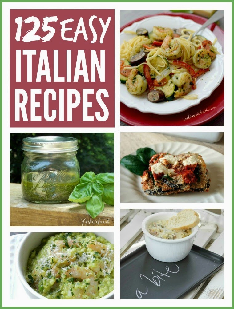 125 Easy Italian Recipes