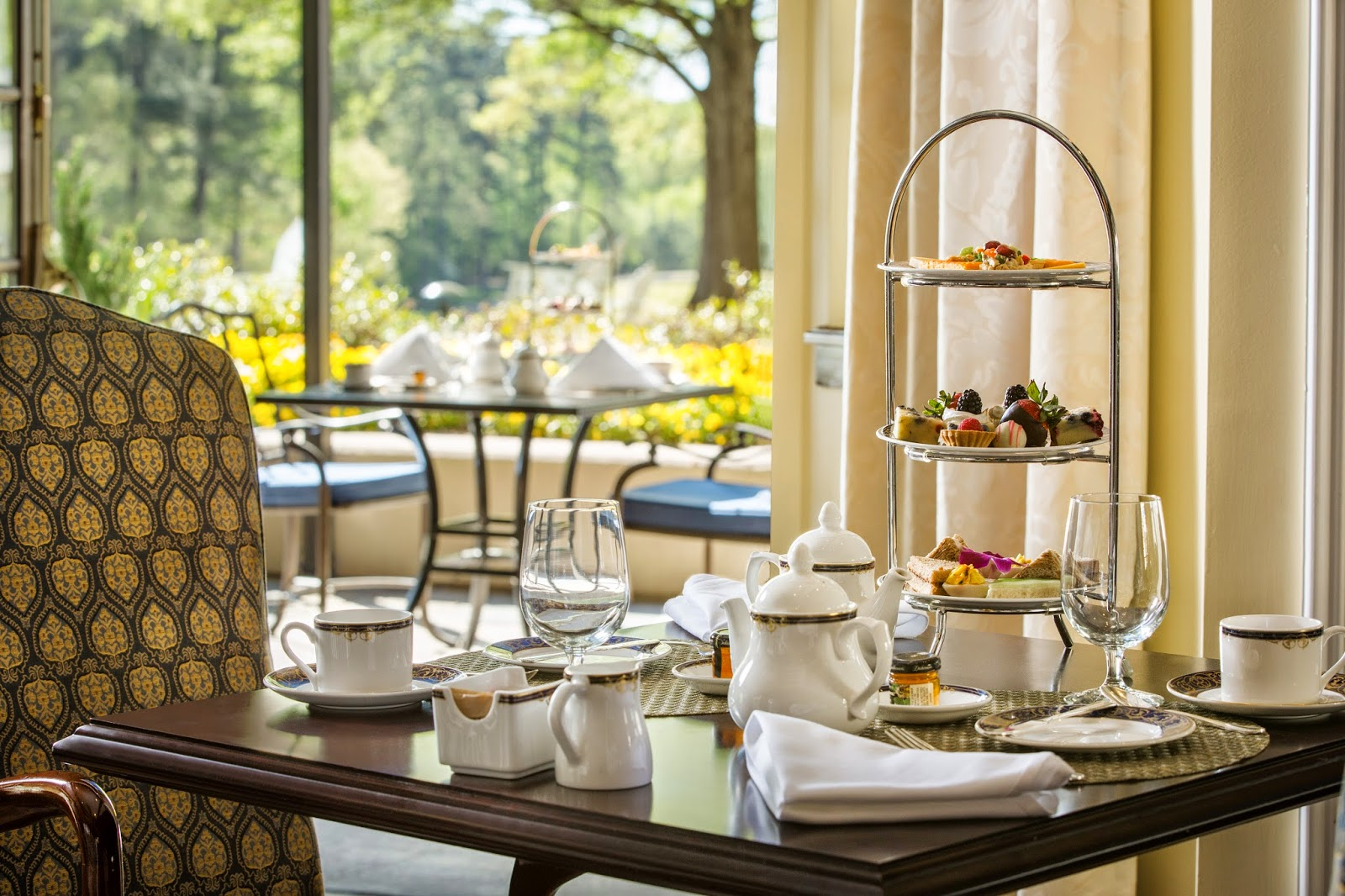 #Outaboutnc Experience Tea at the Washington Duke Inn in Durham (Two for Tea Giveaway)