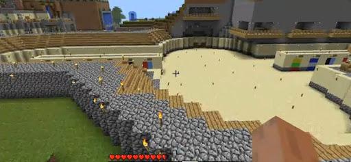 Arene Gladiateur Minecraft