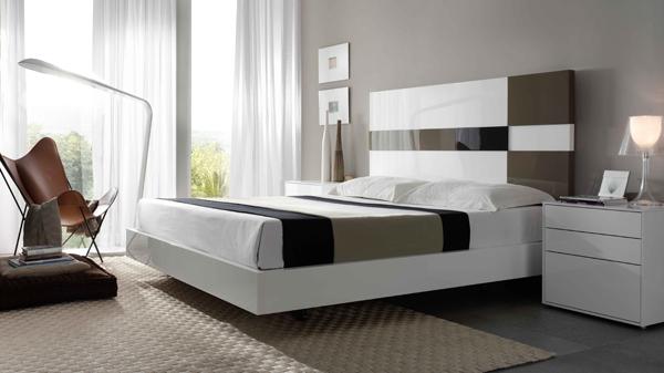 Cabeceros modernos de cama for Dormitorios matrimonio juveniles modernos
