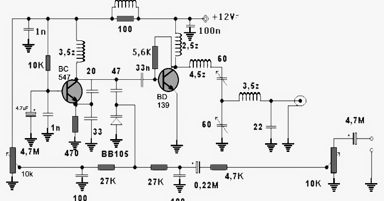 1 5 watt transmitter circuit