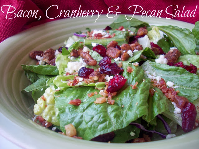 Bacon Cranberry and Pecan Salad Top 10 Recipes and Tutorials of 2013