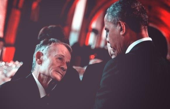 Джемилев и Обама в Варшаве (архив)